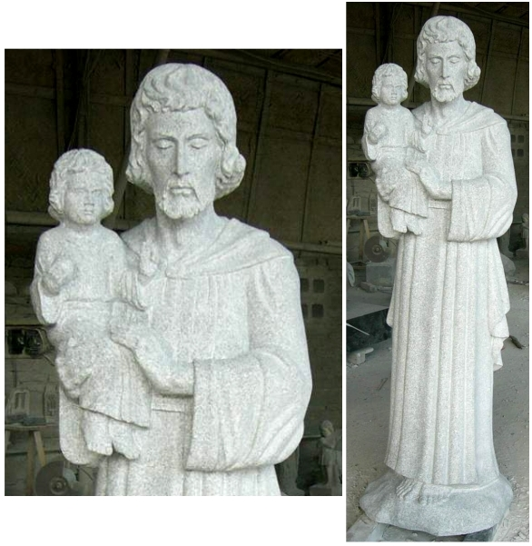 st. joseph with child